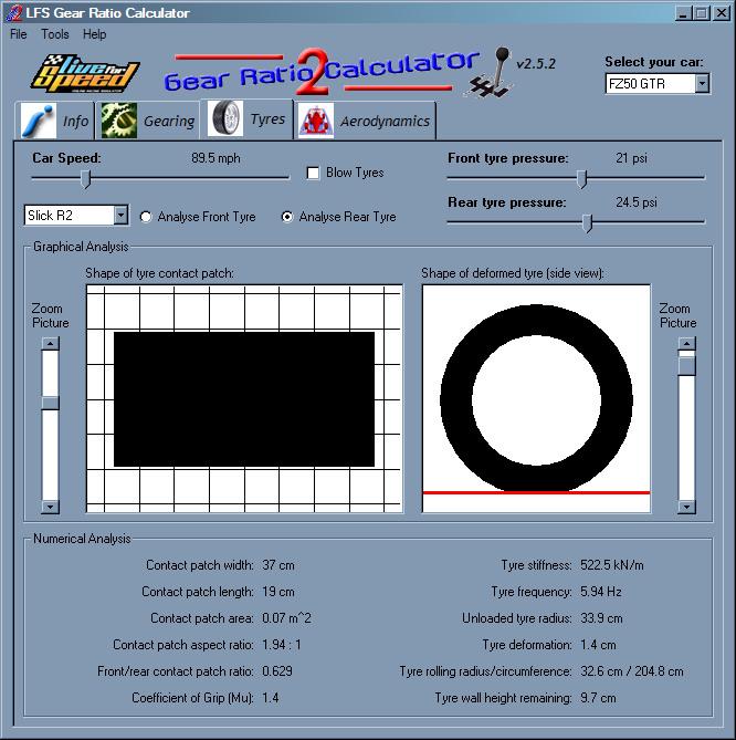 Lfs Forum Lfs Gear Ratio Calculator 2 189 Deceased